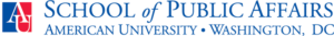 American University's School of Public Affairs Logo