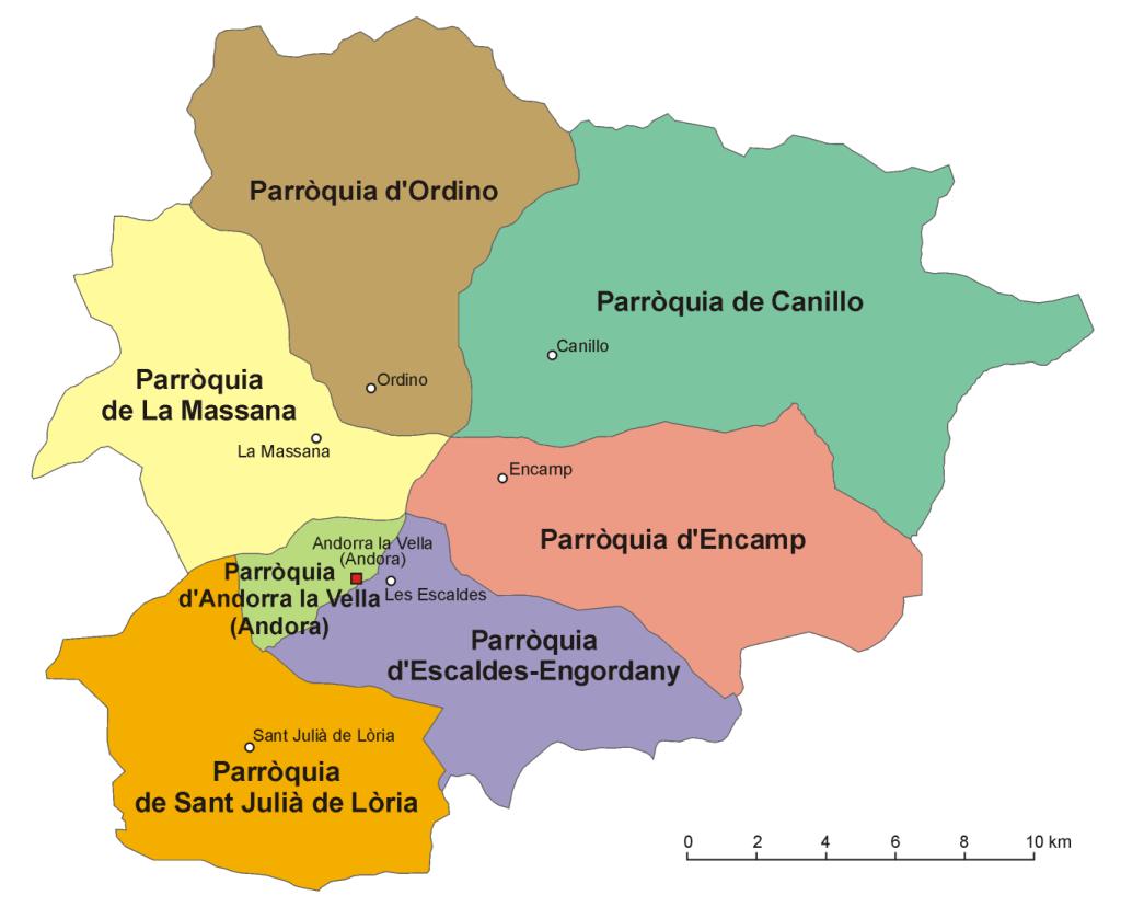 Andora Parishes